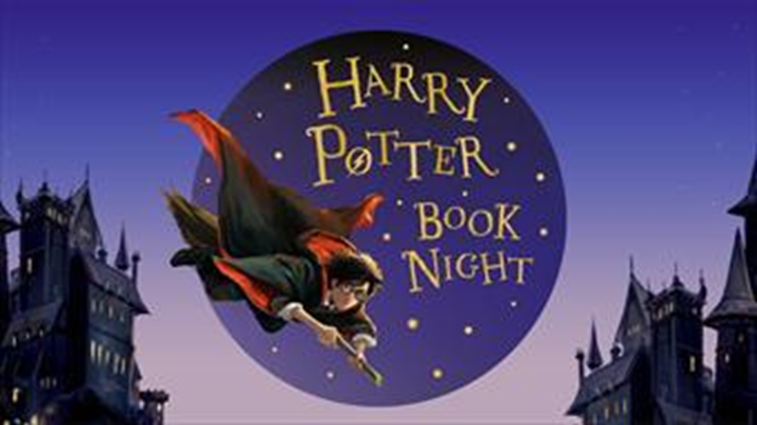 Virallinen Harry Potter Book Night -kuva.