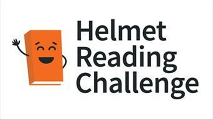 Helmet Reading Challenge logo