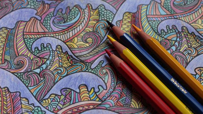 Linkki tapahtumaan Mielenrauhaa, värejä ja tarinoita