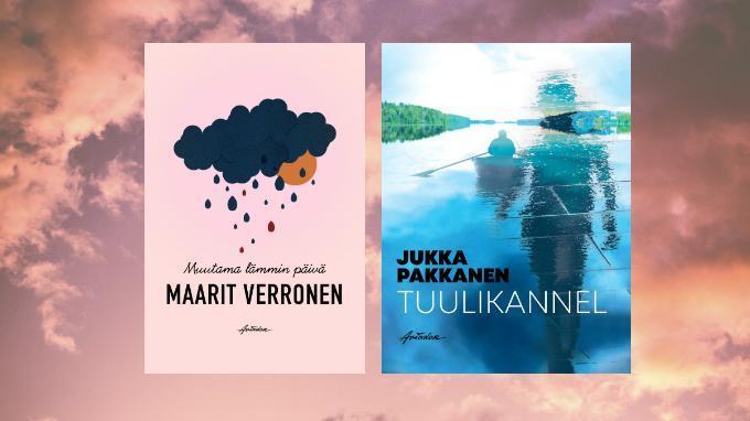Linkki tapahtumaan Kirjailijavieraina Maarit Verronen ja Jukka Pakkanen