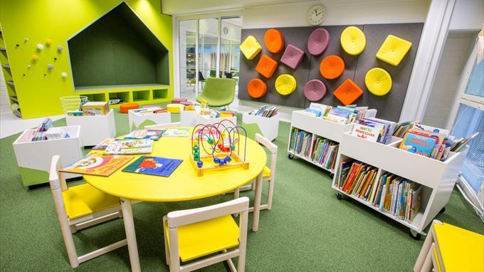 Länsimäki library childrens area