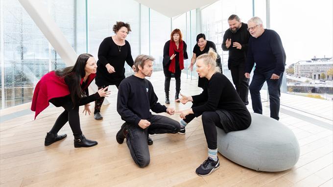 Linkki tapahtumaan Oodi runolaululle: Jonkkis konkkis - musiikkihetki perheille