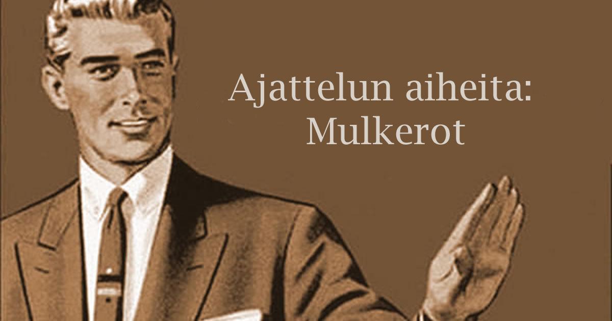 Linkki tapahtumaan Ajattelun aiheita - Lukupiiri: Mulkerot