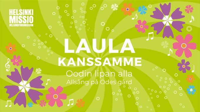 Link to event Laula kanssamme Oodin lipan alla