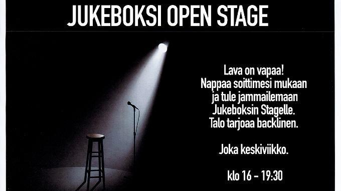 Jukeboksi Open Stage