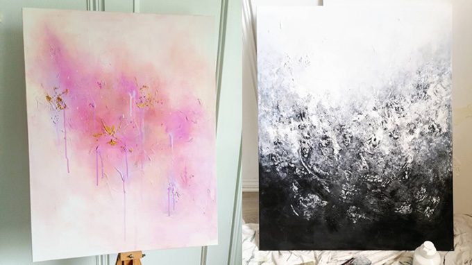 Linkki tapahtumaan Laura Dahlqvistin näyttely: Elämän kääntöpuolet