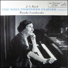 Levykansi: Wanda Landowska: J.S. Bach - The Well-Tempered Clavier