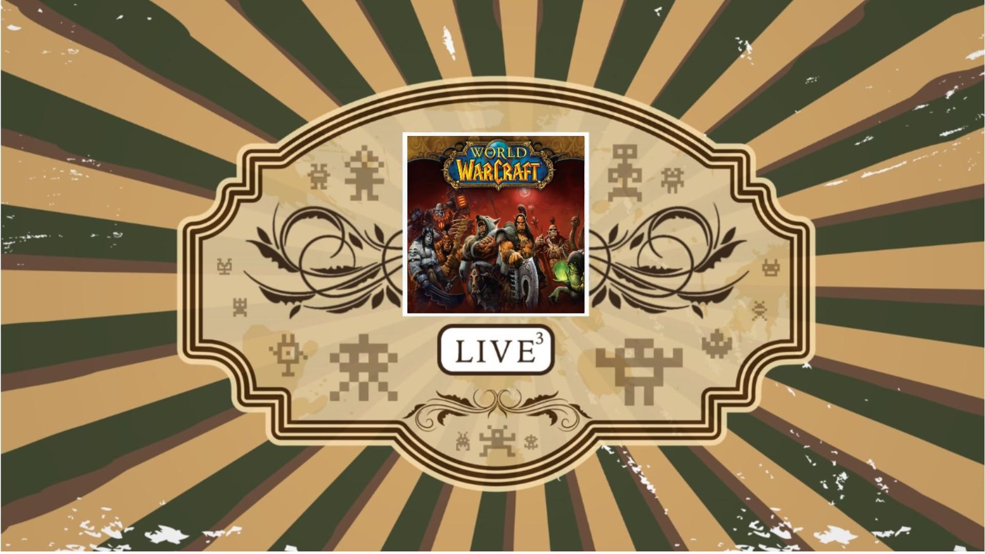 Linkki tapahtumaan Etätapahtuma: Pelin paikka LIVE, Kausi 3, Osa 9: World of Warcraft