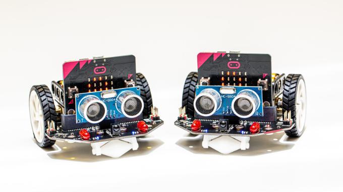 Robopaja perheille Micro:bit Maqueen