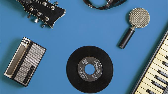 Linkki tapahtumaan Etätapahtuma - Puhetta musiikista ja miten sitä voi helposti oppia