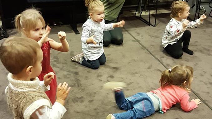 Linkki tapahtumaan Ладушки - кружок для детей на русском языке