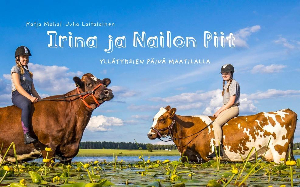 Linkki tapahtumaan PERUTTU Irina ja Nailon Piit - yllätyksien päivä maatilalla julkistamistilaisuus