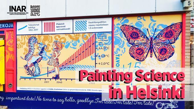 Linkki tapahtumaan Painting Science in Helsinki