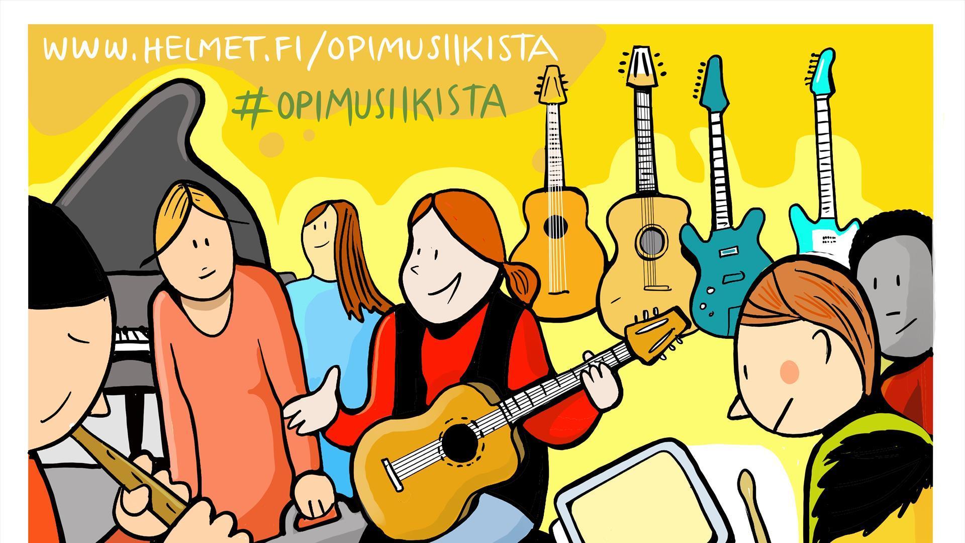 Linkki tapahtumaan Musapaja: Opi musiikista biisinteon kautta