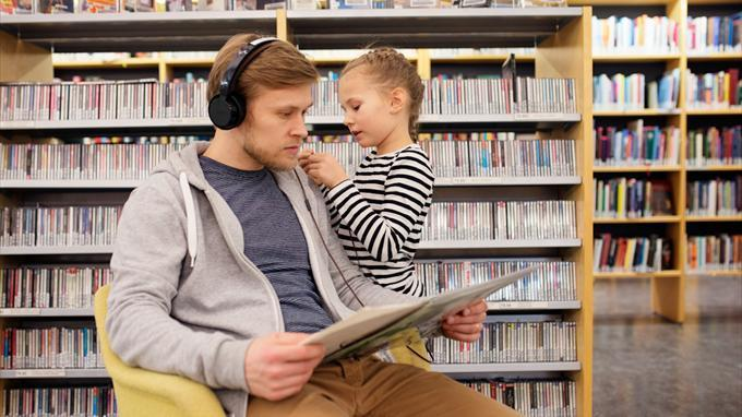 Kauniaisten kirjaston musiikkiosasto uusitaan | Helmet