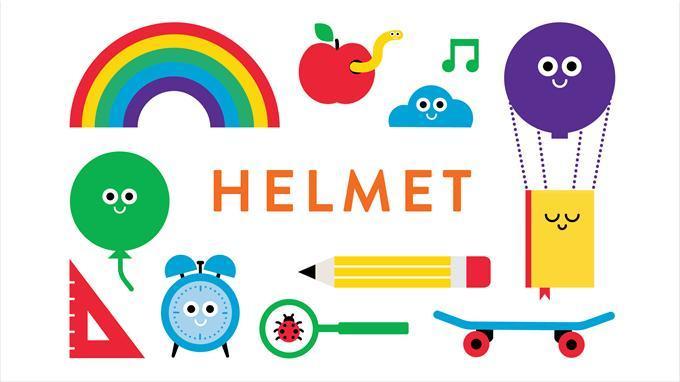 Lapsille oma Helmet-kirjastokortti   Helmet