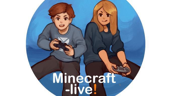Linkki tapahtumaan Etätapahtuma: Minecraft-live