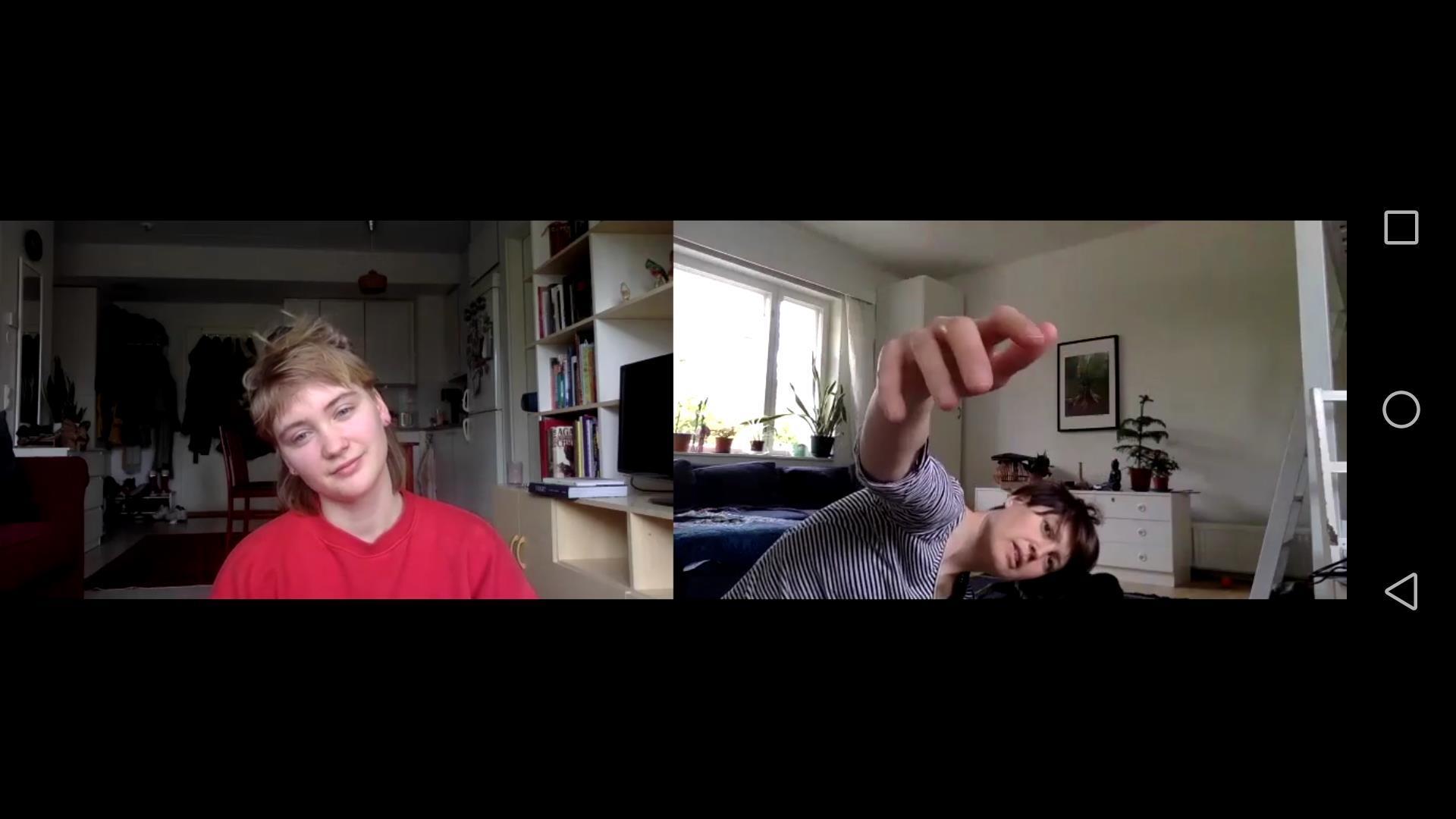 Linkki tapahtumaan Videoinstallaatio: Tanssia sosiaalisella etäisyydellä
