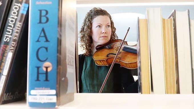 Linkki tapahtumaan Orkesteri tulee kirjastoosi!